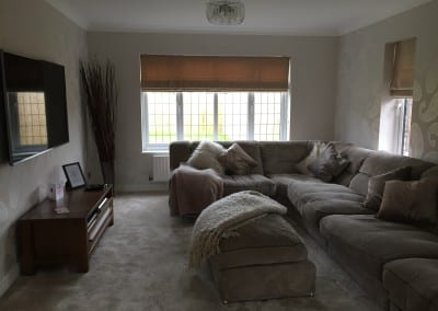 The Filsons living room