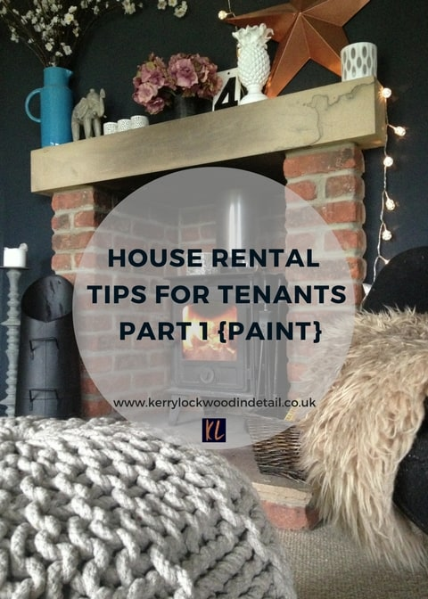 House Rental tips, painting to transform your house into a home