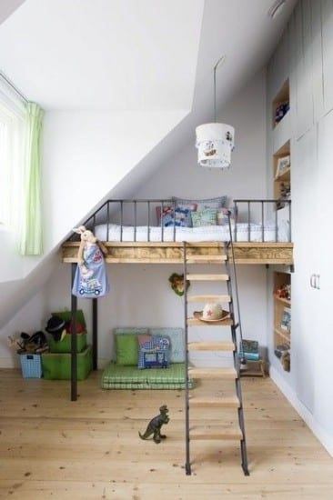 Small kids rooms space saving tips kerry lockwood in - Space saving bunk beds for small rooms ...