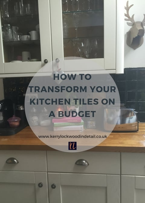 How to transform your kitchen tiles on a budget