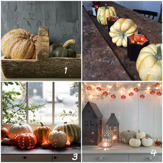 Autumn, pumpkins, decoration, autumnal decor