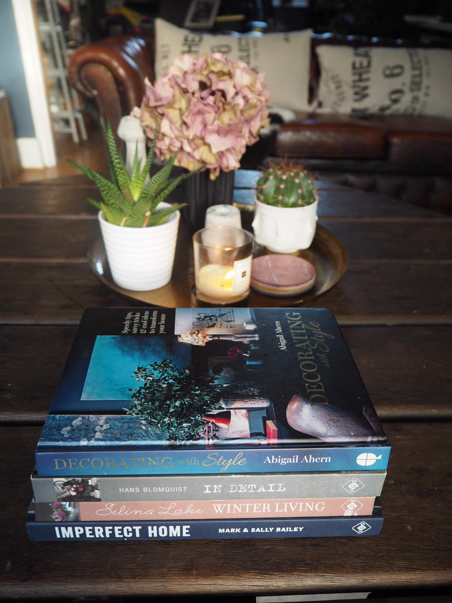 Best Interior decor books, tables cape