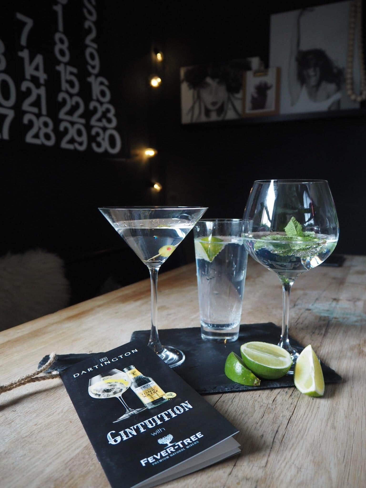 Gintuition set, Dartington Crystal
