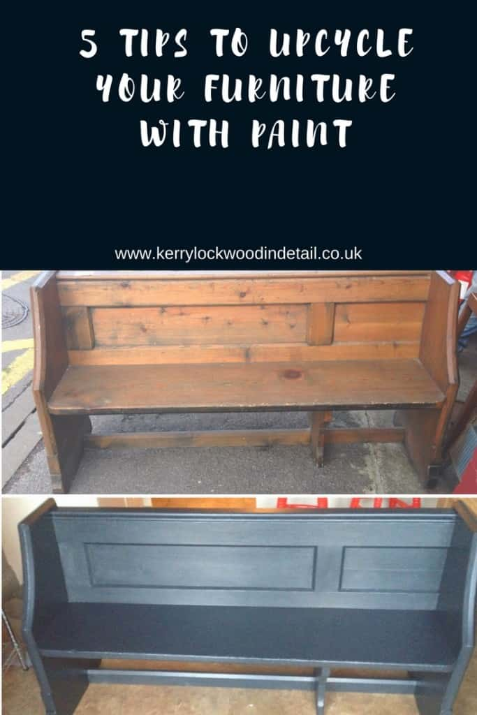 5 tips to upcycle your furniture with paint