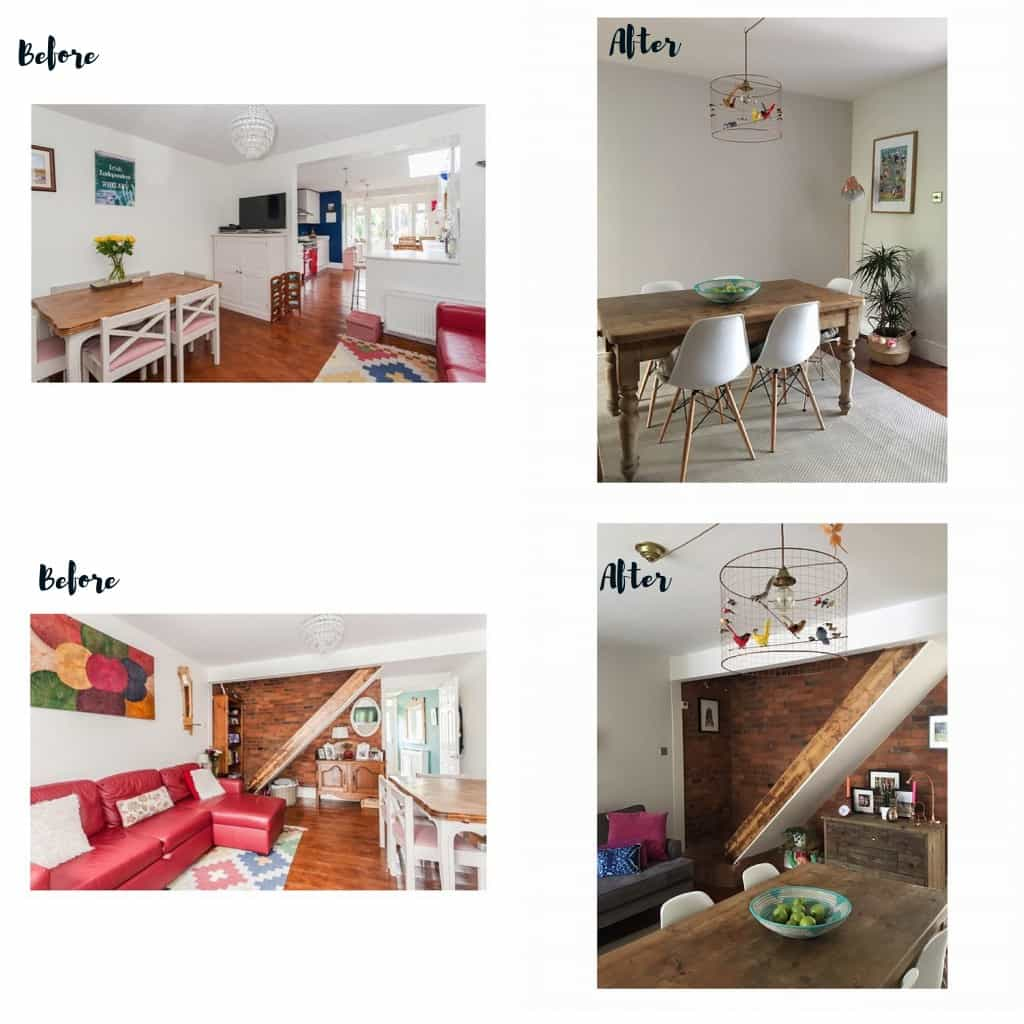 Before and after home makeovers