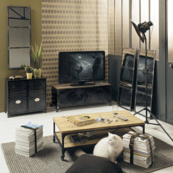Maisons du monde tv cabinet