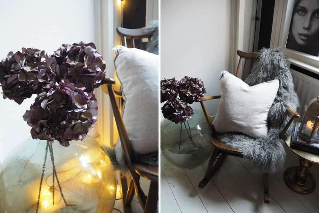 Autumn updates for your home, faux flowers, cox & cox