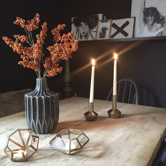 Stylish Halloween decor for your home.