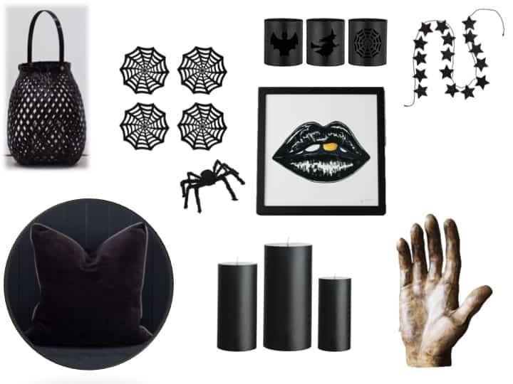 Stylish halloween decor, gothic, john lewis, also home