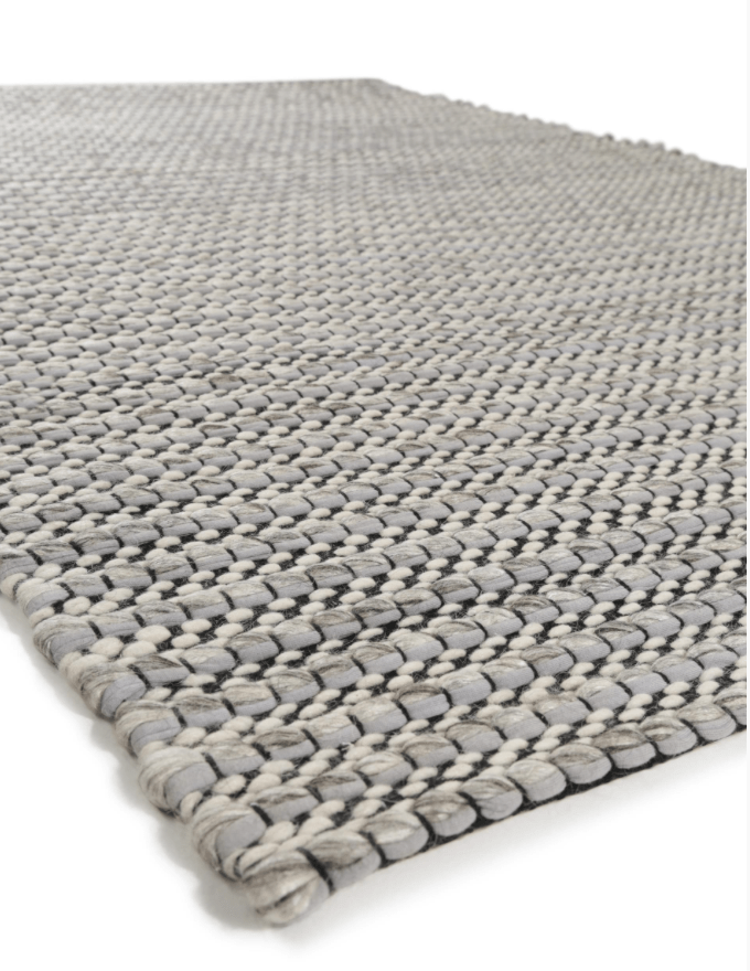 Choosing the perfect rug, Benuta, pune wool rug grey