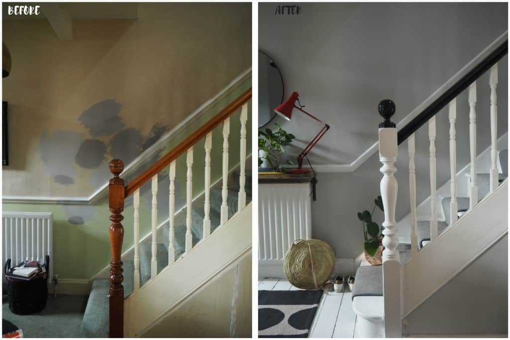 How I revamped my Hallway and stairs plus the final reveal