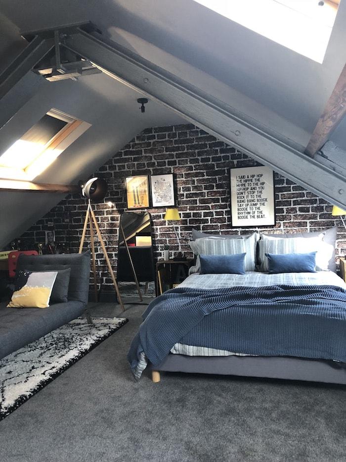 Revamp Restyle Reveal, teenage boys bedroom, maison du monde