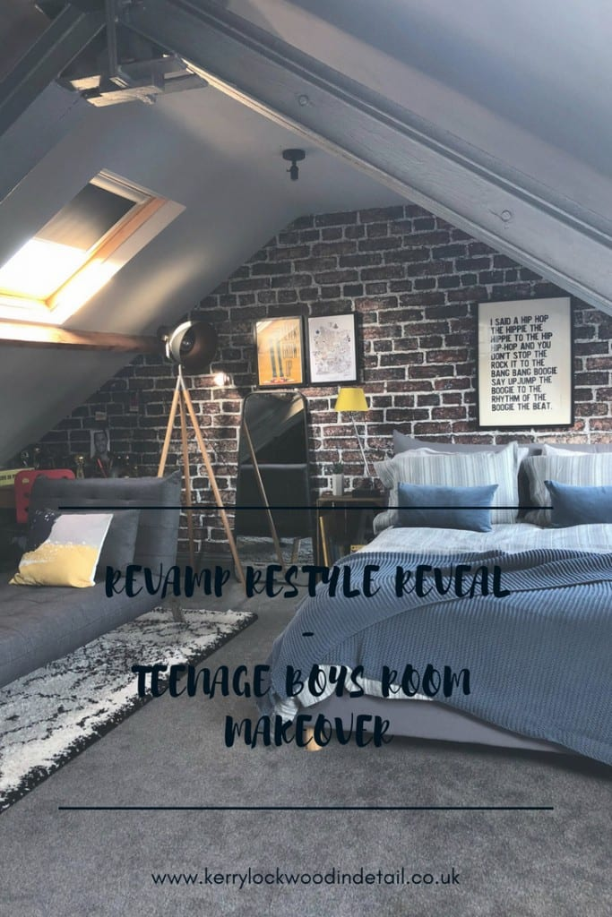 Revamp Restyle Reveal - Teenage boys room makeover