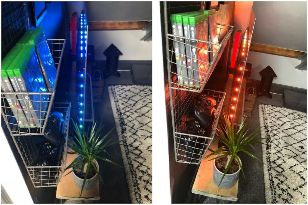 Revamp Restyle Reveal, teenage boys bedroom, phillips tv 55 inch 4k