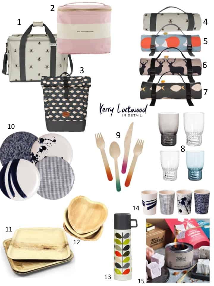 Picnicware essentials