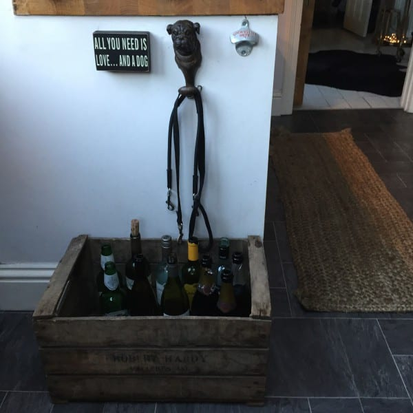 wooden wine storage