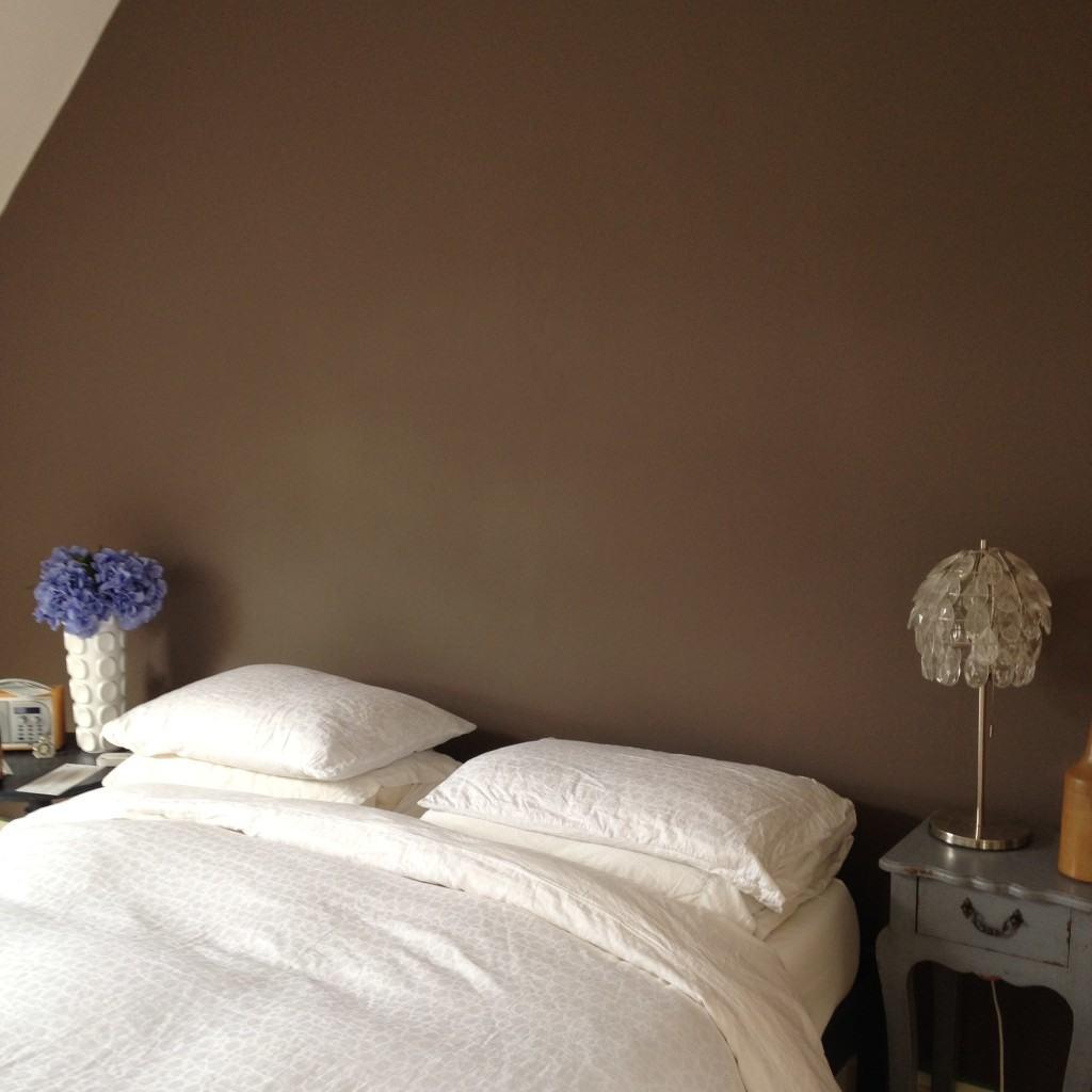 Bedroom make over, rental property, after photo