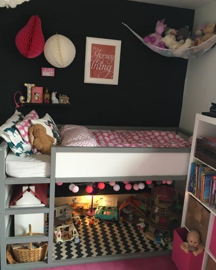 Girls bedroom, Ikea Hack