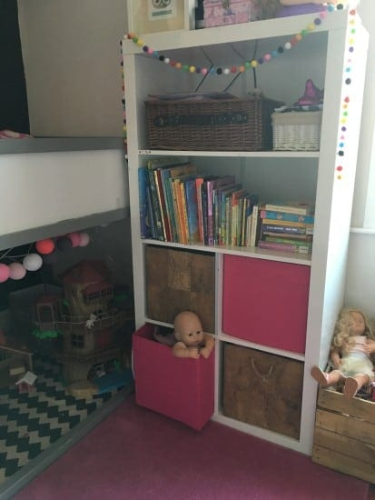 Kids room storage