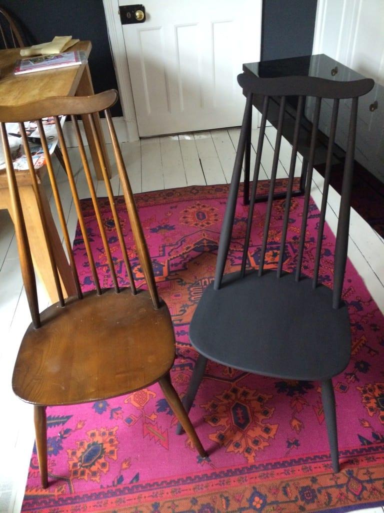Vintage furniture shopping