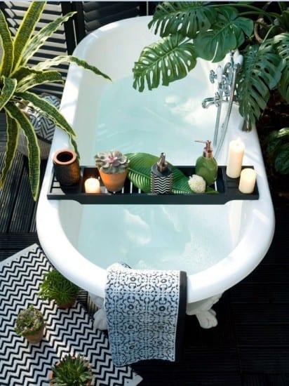 Bath greenery