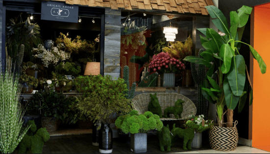 Abigail ahern faux florist, heals, London, flowers, faux plants