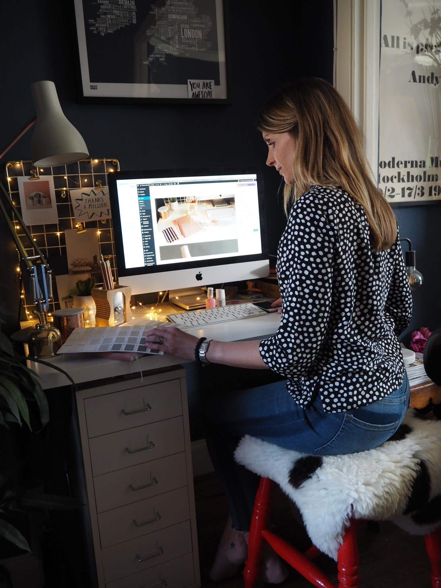 Kerry Lockwood - In detail, home office blog