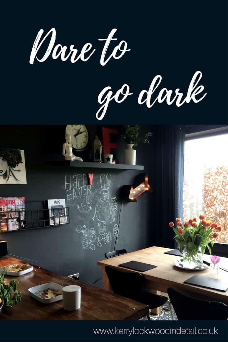 Dare to go dark blog post