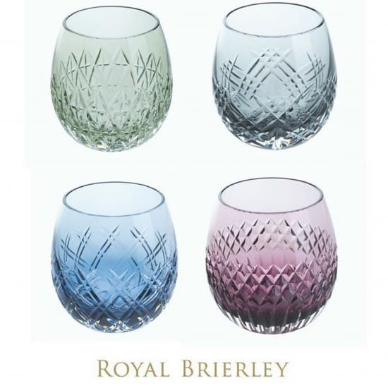Dartington Crystal cut glasses