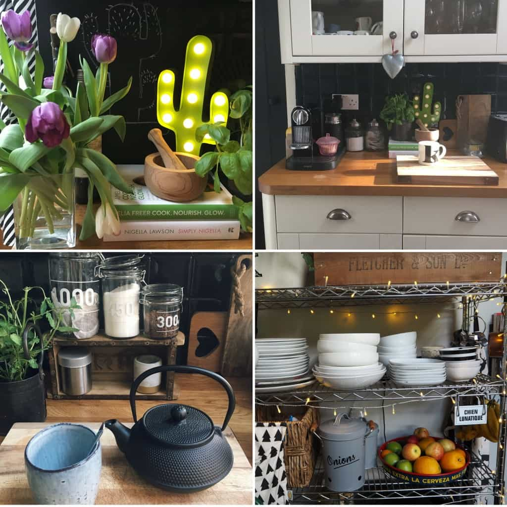 Updates to a rented kitchen, accessories