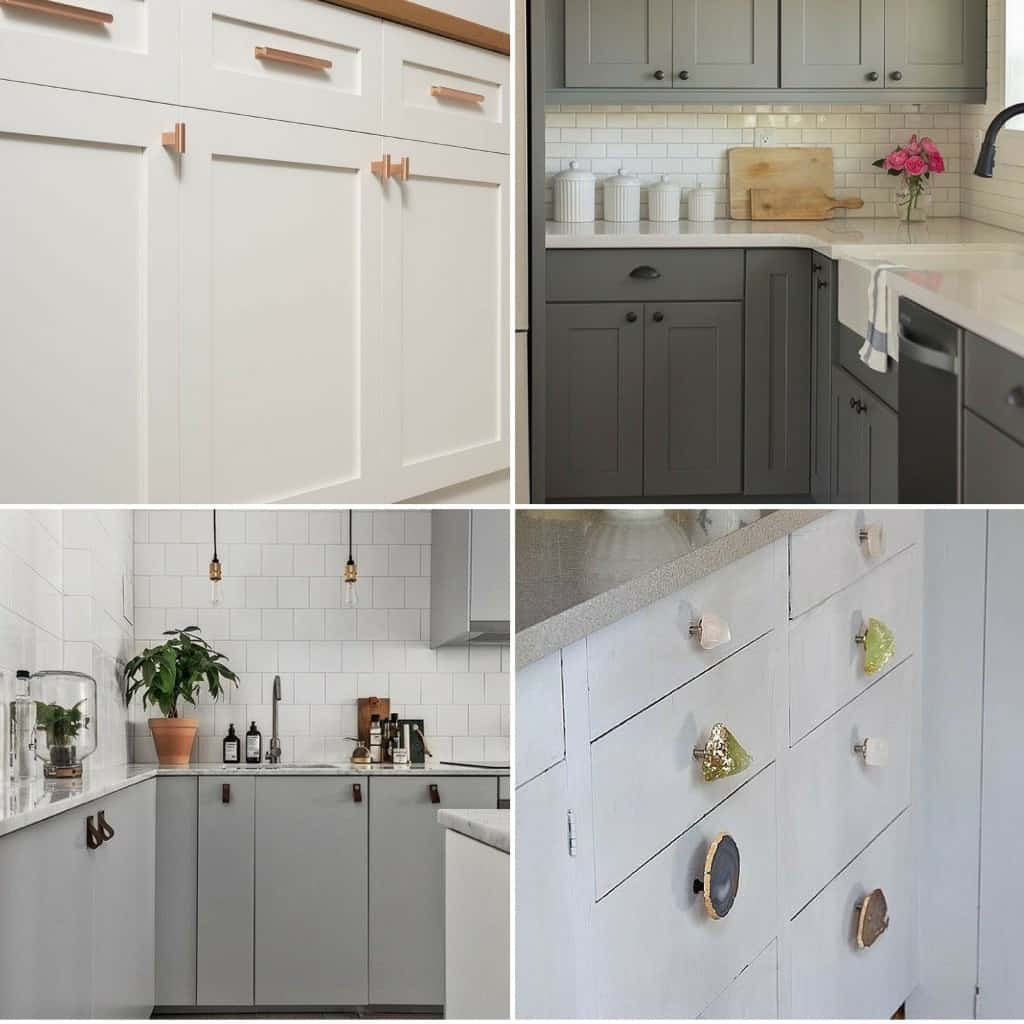 changing kitchen handles and knobs