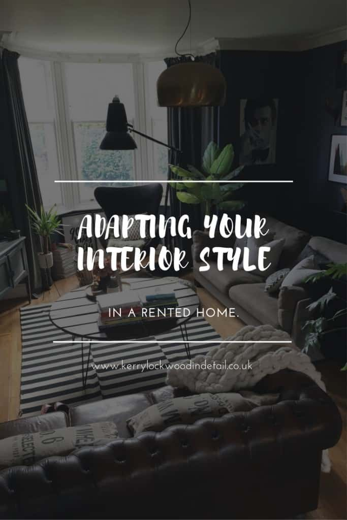 Adapting your interior style in a rented home