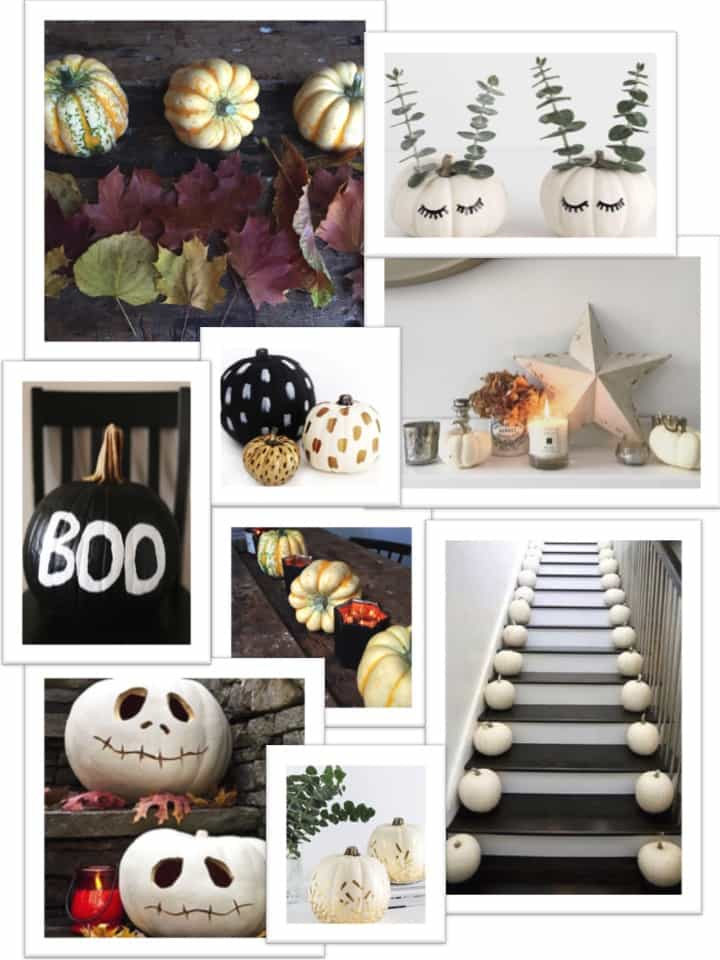 Stylish Halloween decor