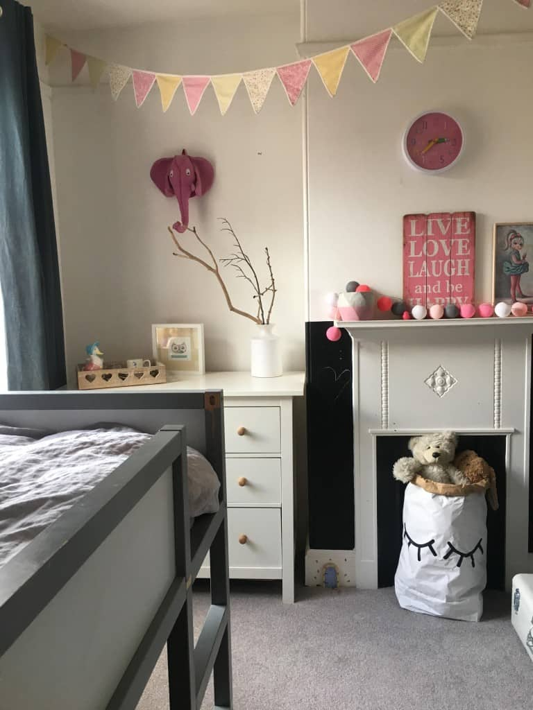 Revamp restyle reveal, girls room