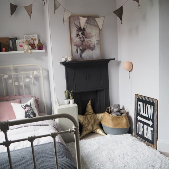 Revamp Restyle Reveal – Girls bedroom.