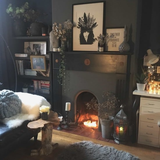 9 inspiring ideas for non-working fireplaces