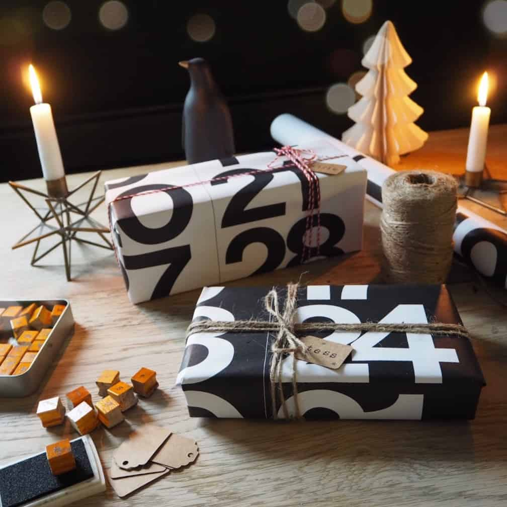 Stylish Christmas gift wrapping ideas 2, stendig calendar