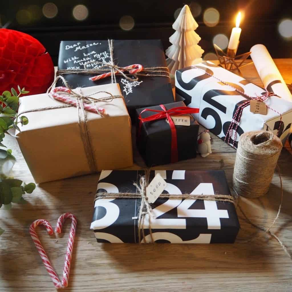 Stylish Christmas gift wrapping ideas 2