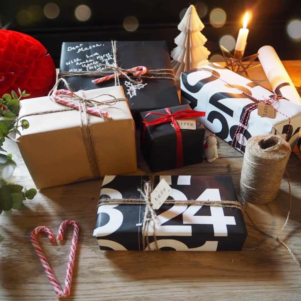Stylish Christmas gift wrapping ideas 2