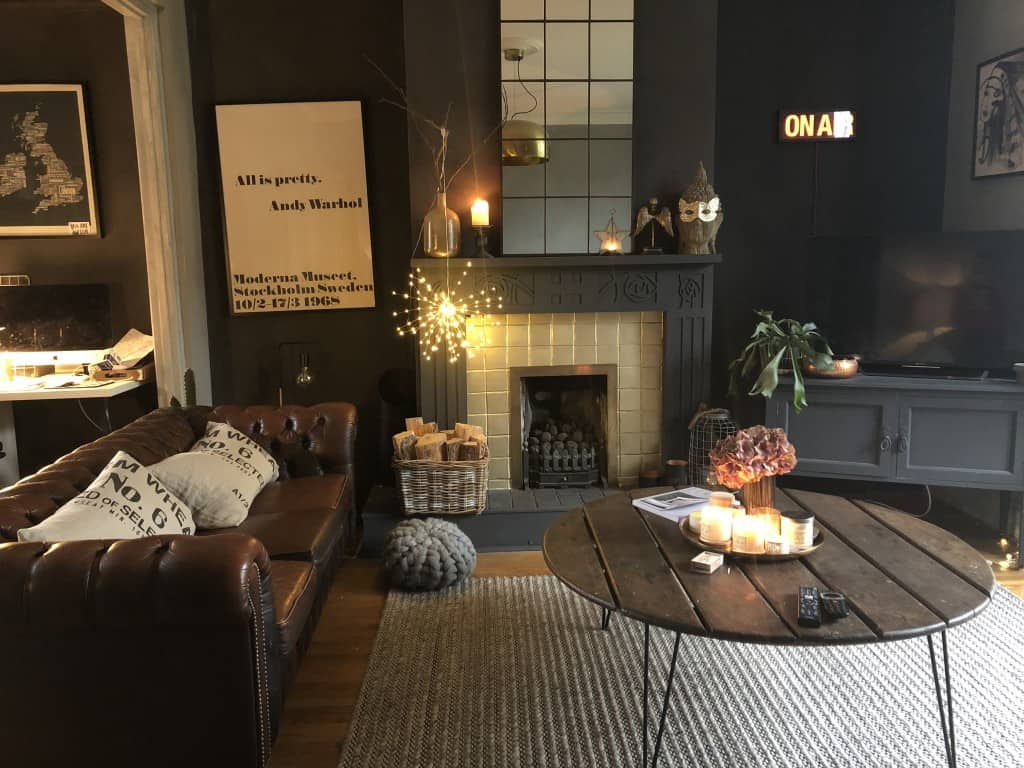 My living room makeover with Bauwerk Colour