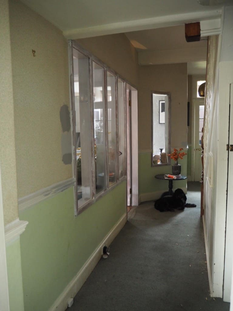 How I turned my internal glass windows into crittall style