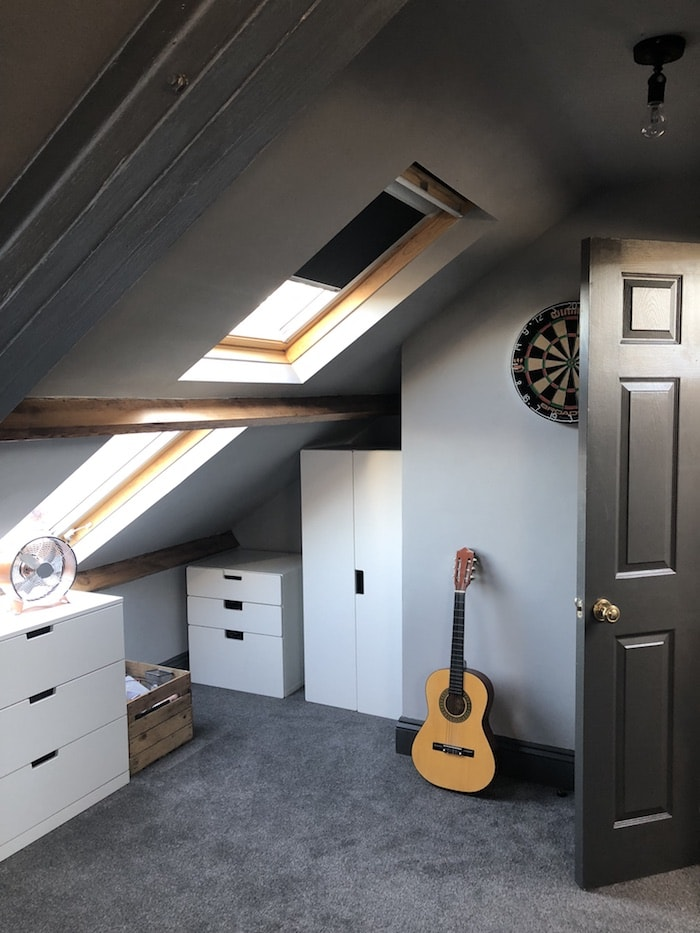 Revamp restyle reveal, teenage boys bedroom