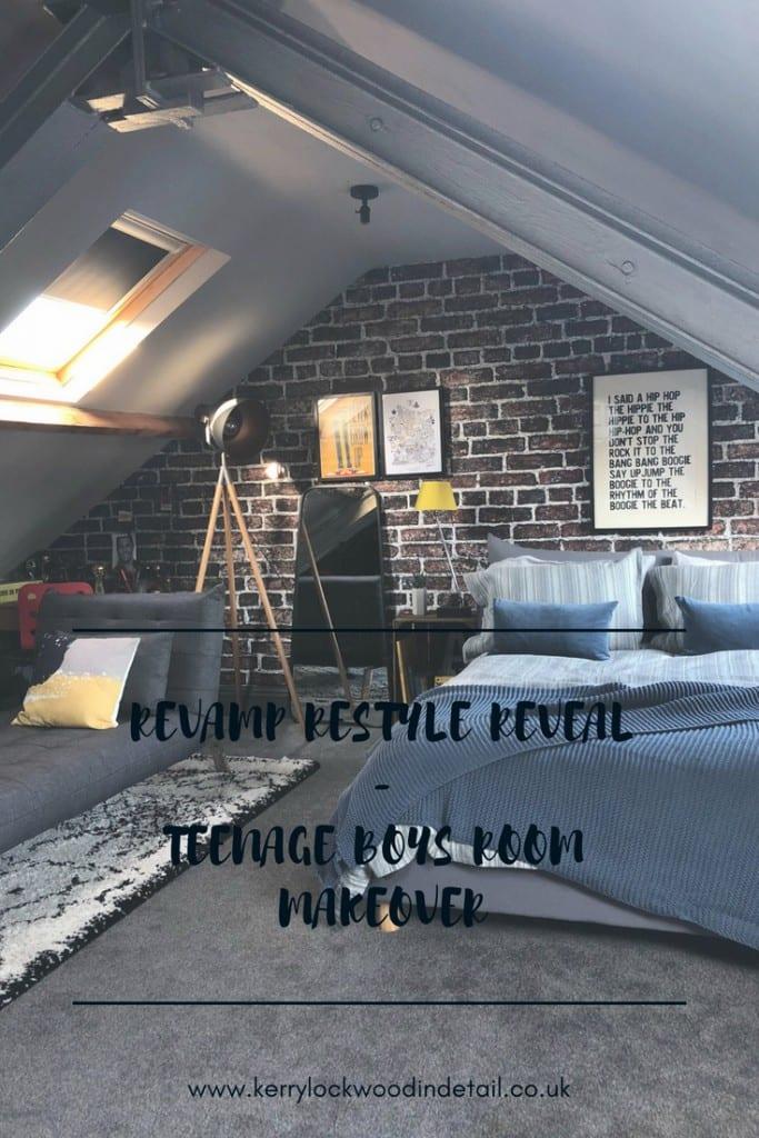 Revamp Restyle Reveal - Teenage Boys Bedroom. - Kerry Lockwood - In ...