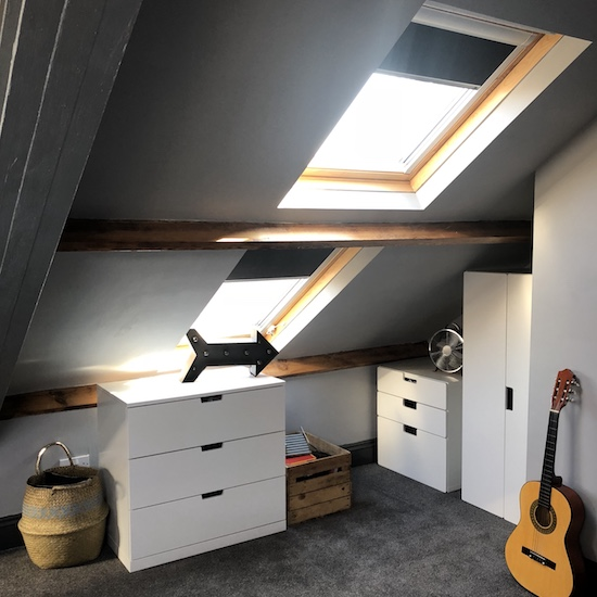Why I love roof blinds and choosing the correct colour with Blinds Direct.