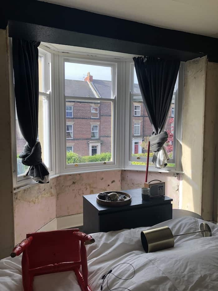 master bedroom makeover, Kerry Lockwood, wood chip removal
