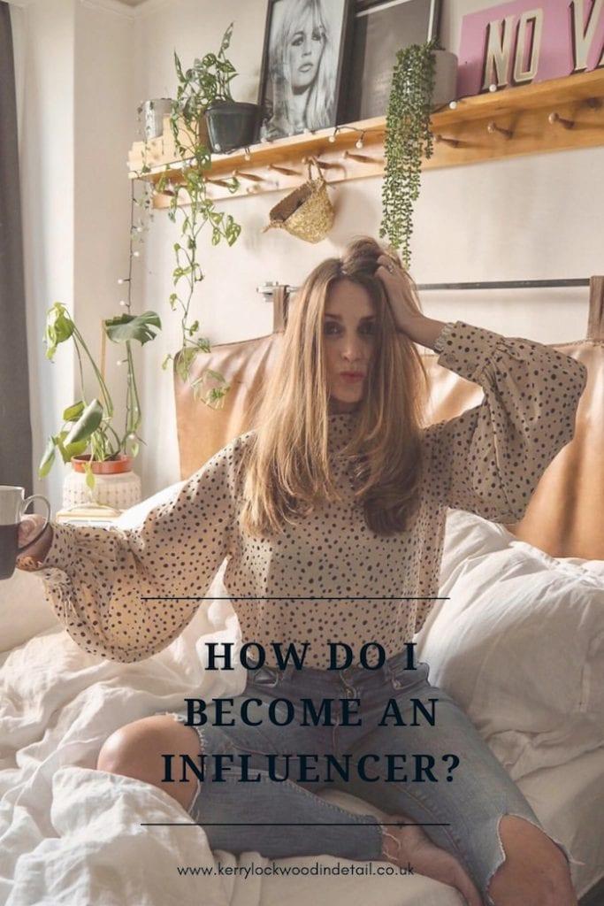 How do I become an influencer