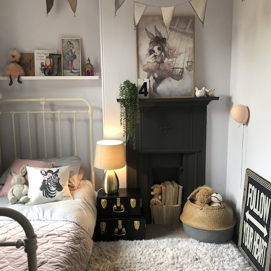 Get the look: Girls bedroom styling