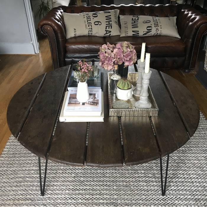 Styling a coffee table 3 different ways, maxi, large