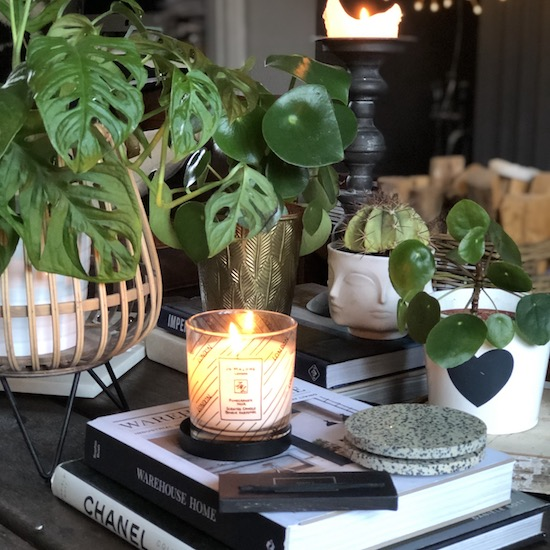 Coffee table styling 3 different ways