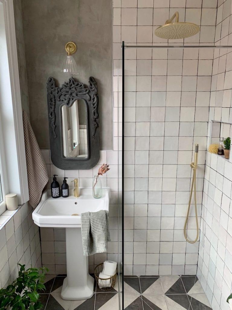 Renovation, wet room, shower,